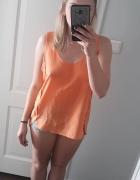 Pomarańczowa bluzka H&M 40 L