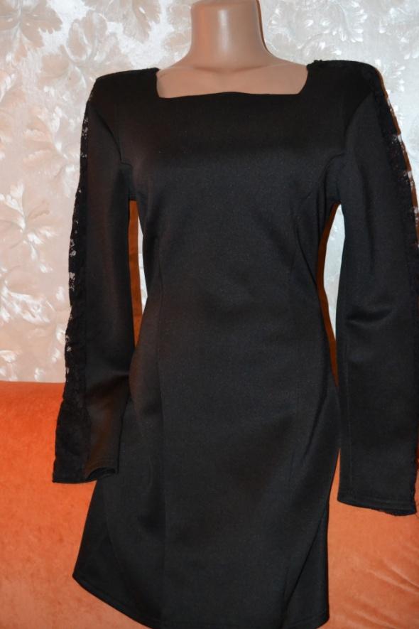 Boohoo suknienka czarna unikat