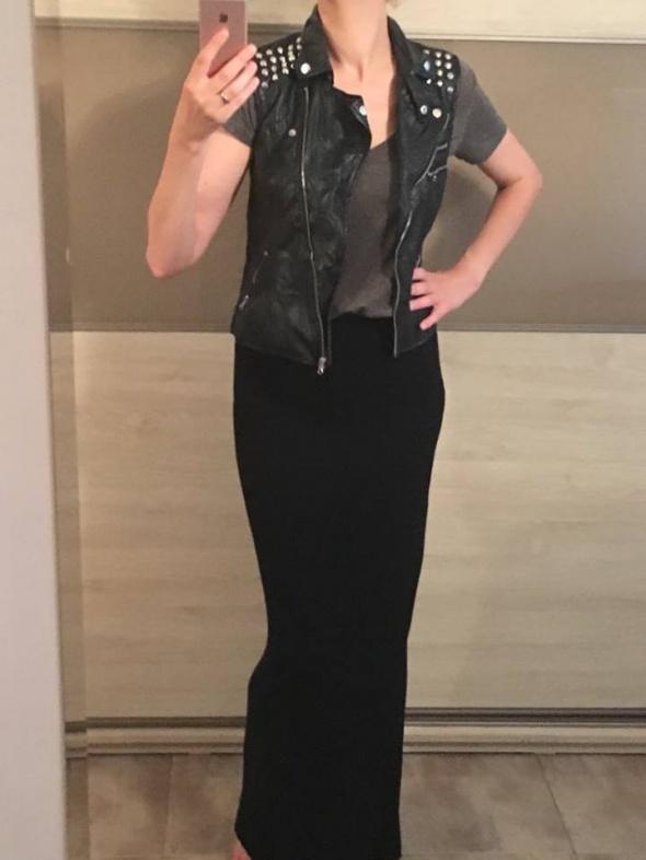 Czarna długa spódnica ZARA