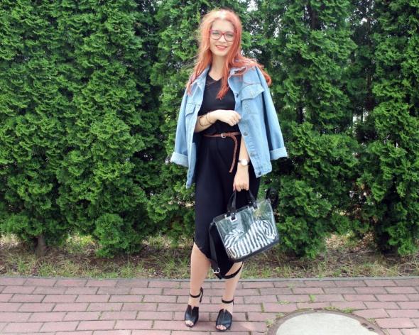 Blogerek Plażowa sukienka w mieście