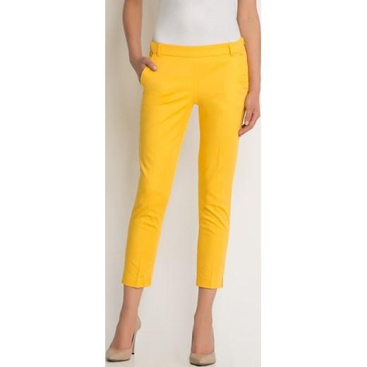 082dac128dd5 ORSAY Spodnie cygaretki w kant nowe żółte 40 w Spodnie - Szafa.pl