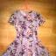 Primark rozkloszowana sukienka skater 36 S kwiaty