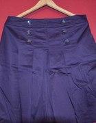 fioletowa spódnica rozkloszowana...