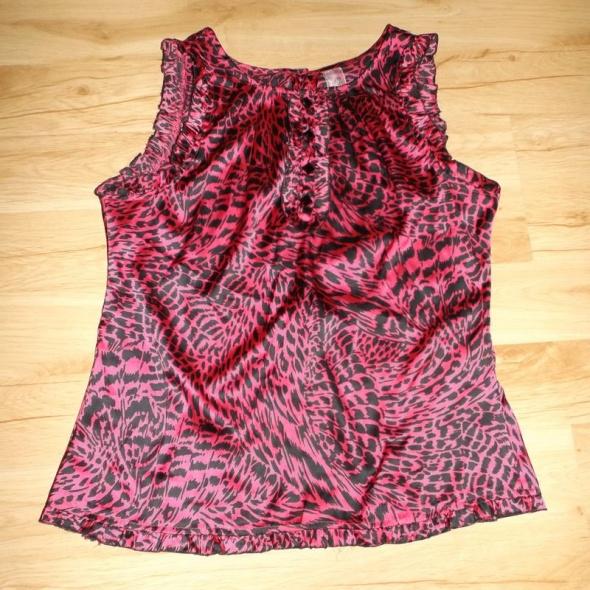 Różowa efektowna rozpinana bluzeczka XL...