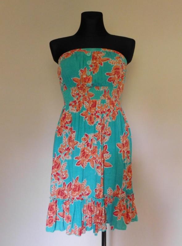 Evie sukienka mini kwiaty 38...