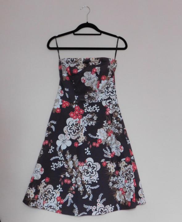 New Look sukienka brąz kwiaty 36...