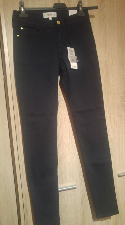 Nowe spodnie jeansy Mango...