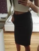Elegancka czarna spódnica galowa czarna...