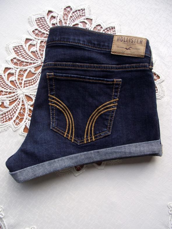 df32728f Hollister krótkie spodenki szorty jeansowe damskie L XL w Spodenki ...
