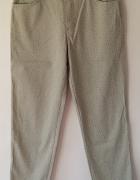 szare spodnie Nina by Askari wysoki stan vintage...