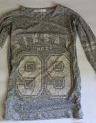 używana bluzka szara sinsay rozmiar xs 34