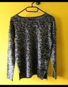 używany szary sweterek tally weijl rozmiar 34 xs