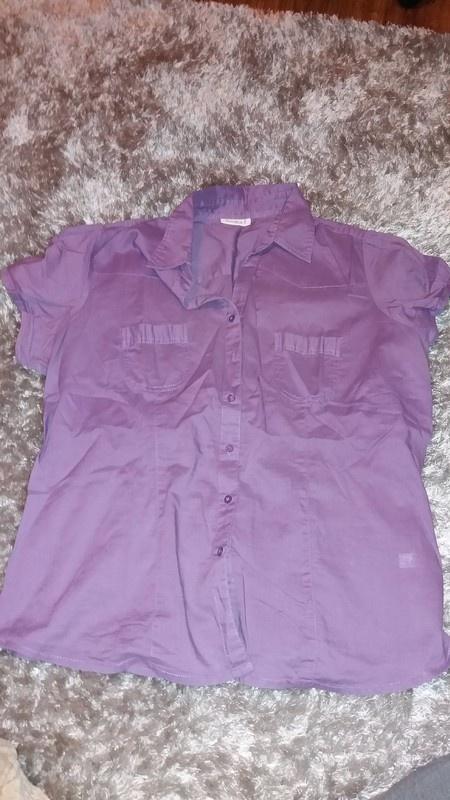 Koszula fioletowa rozmiar XL XXL...