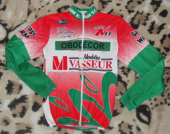 Bluza koszulka kolarska rowerowa M