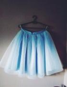 Nowa błękitna spódnica tiulowa 38 M...