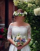 Suknia ślubna i bolerko suknia 3w1