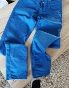 Nowe spodnie niebieskie Cropp XS...