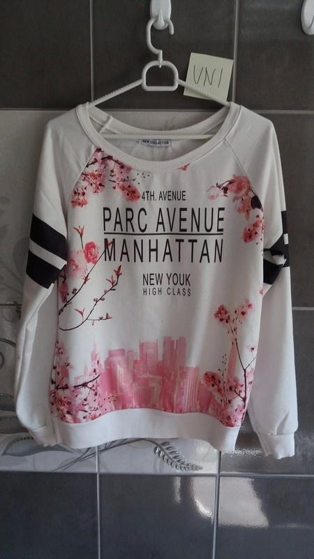 Bluzy Bluza damska w kwiaty uniwersalna
