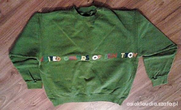 Zielona bluza Benetton...