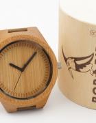 Drewniany zegarek męski na prezent Bobo bird...