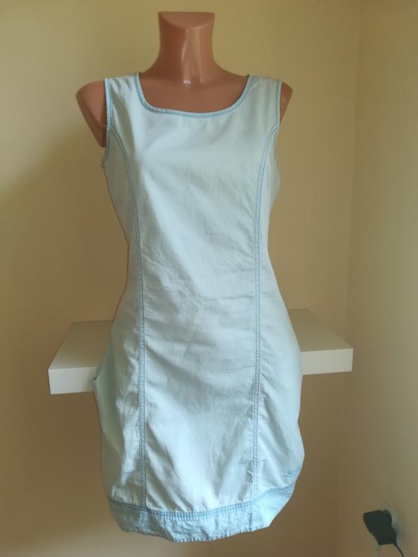 Jeansowa sukienka z kieszeniami Big Star...