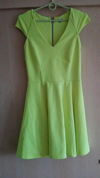 09b4691ca6 Neonowa sukienka River Island w Suknie i sukienki - Szafa.pl