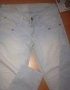 BERSHKA spodnie jeans rurki S ja...