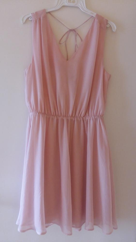 Nowa sukienka Vero Moda S M pudrowy róż