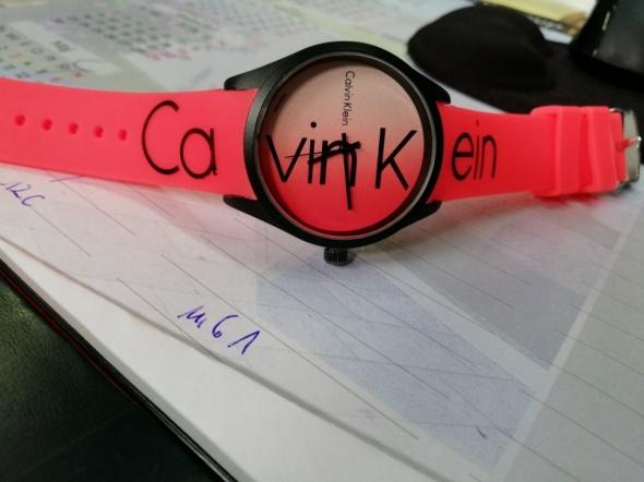 Sportowy zegarek CK...