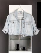 krótka kurtka topshop moto dżinsowa jeansowa dżins jeans katana...