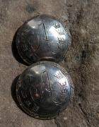 Kolekcjonerskie sygnowane guziki ze srebra
