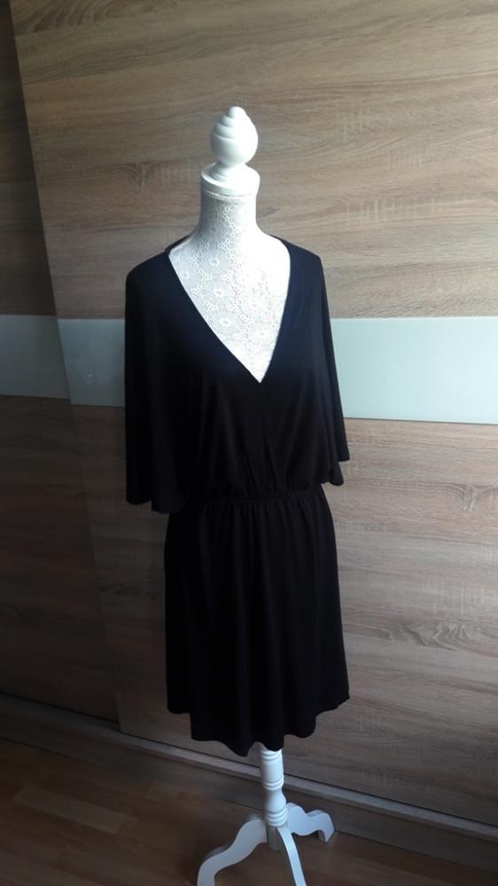 Dresowa sukienka kopertowa H&M 38...