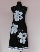 Debenhams sukienka rozkloszowana kwiaty 38...