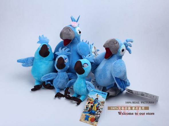 Zabawki 5szt RIO 2 RIO2 Jewel Blu papugi Komplet Nowość
