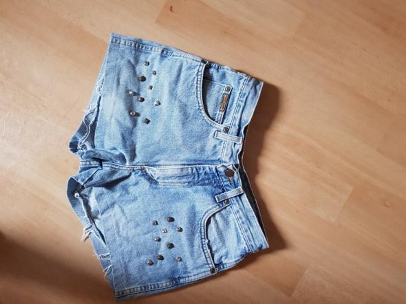 Jeansowe szorty diy