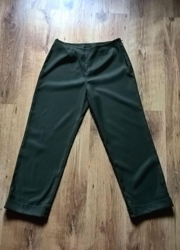 Spodnie Eleganckie Khaki