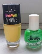 Lakiery do paznokci neon żółty zielony neony
