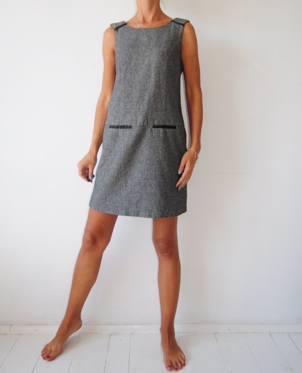 Dunnes sukienka prosta wzorek