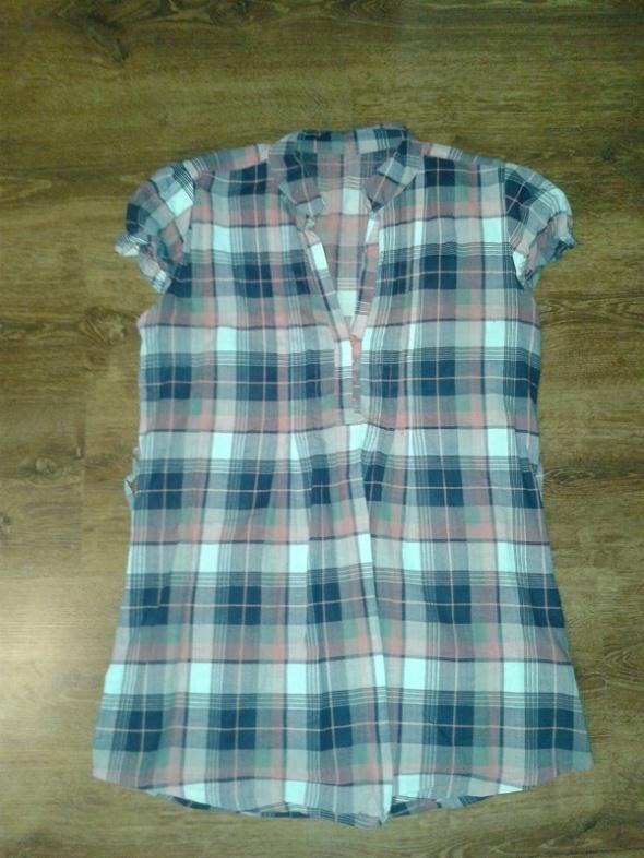 Koszule koszula tunika w kratkę 36