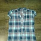 koszula tunika w kratkę 36