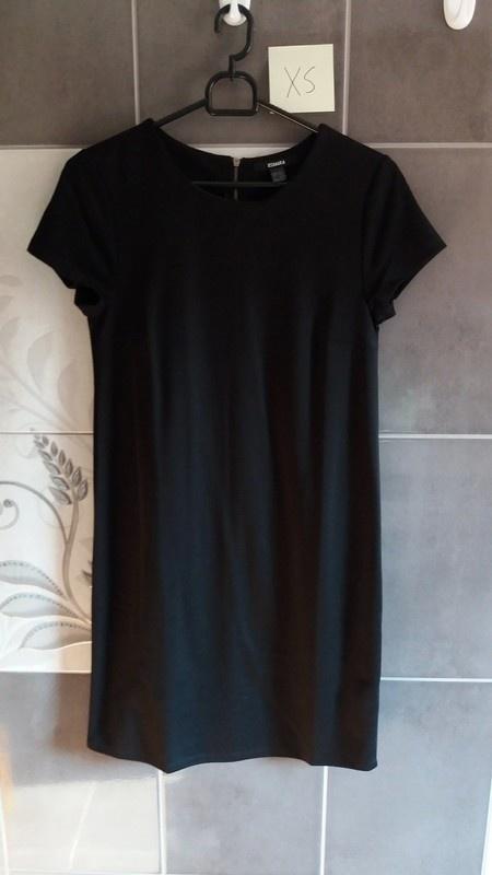 Suknie i sukienki Czarna sukienka XS damska