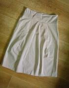 Monnari trapezowa spódnica midi Safari beż 38 M k...