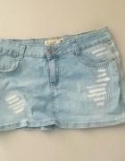 Spódnica mini jeans m