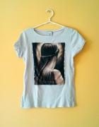 Koszulka print Mango...