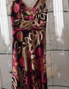 sukienka monnari multikolor