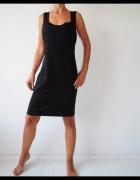 sukienka Wallis czarna ołówkowa