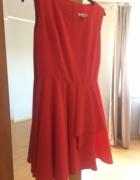 Czerwona sukienka 36 Top Moda