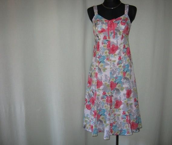 kolorowa sukienka Per Una 8 36...