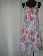 kolorowa sukienka Per Una 8 36