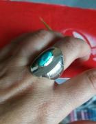 Navajo pierścionek srebro sterling